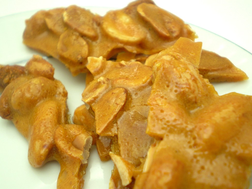 Classic...Homemade Peanut Brittle. Always a favorite.