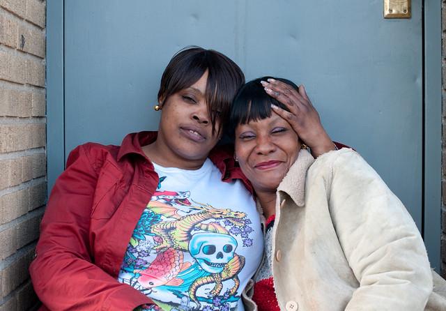 Deshawn and Barbara: Hunts Point Bronx