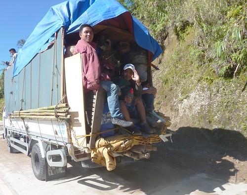Luzon-Route Banaue-Bontoc (3)