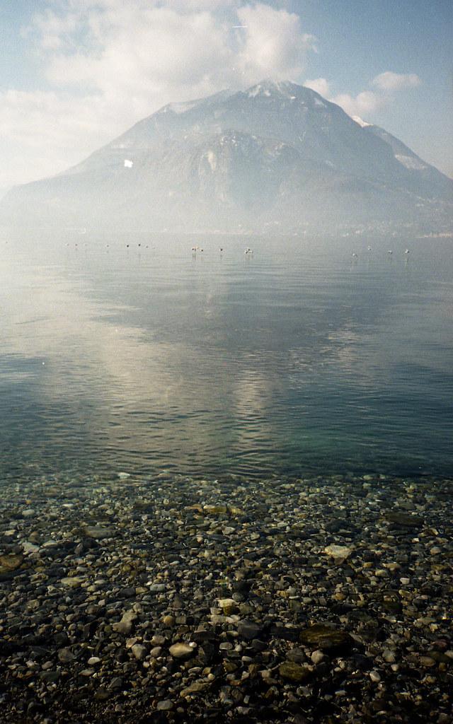 Woda i góra. Fuji DL-200.