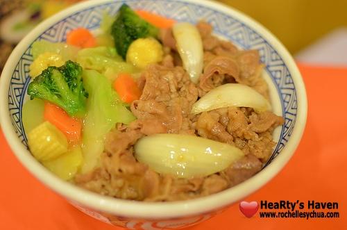 Yoshinoya Veggie Beef