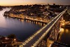 ** Oporto, Ribeira & D. Luis bridge by night ** by ♥NINA27♥ (On Vacations ;)