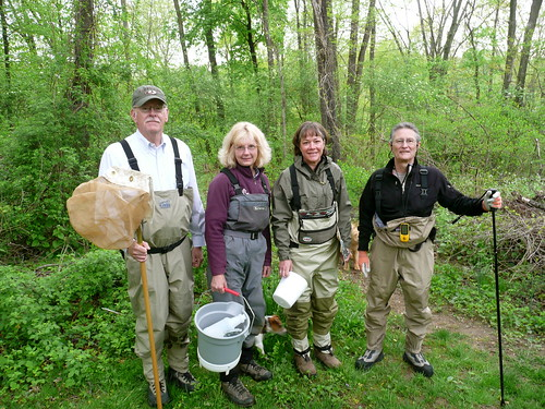 Gunpowder RIVERKEEPER and MD DNR Stream Waders