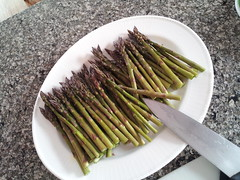 dish(0.0), vegetable(1.0), asparagus(1.0), produce(1.0), food(1.0), asparagus(1.0),