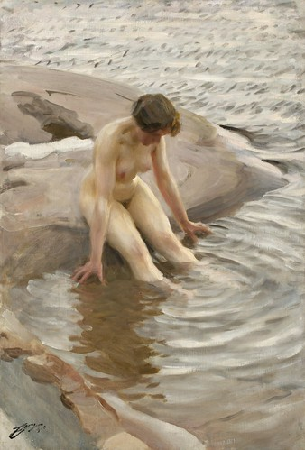 Anders Zorn - Wet [1910] by Gandalf's Gallery