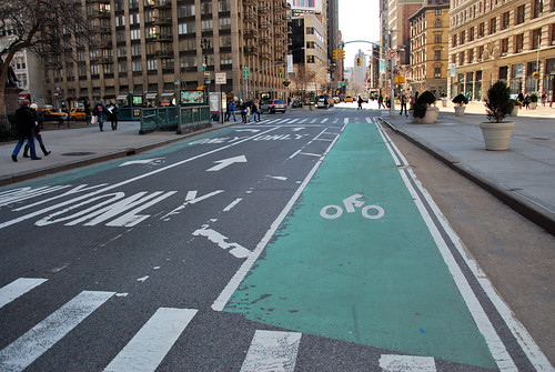 Flatiron bike lane