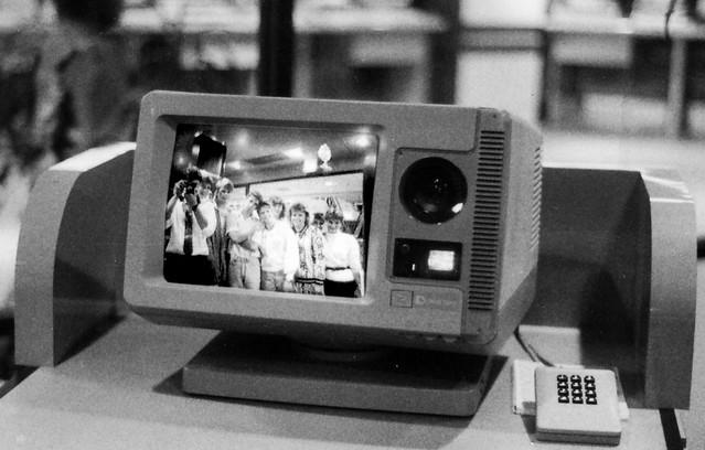 Eric Howton Dallas Infomart Videophone 1988