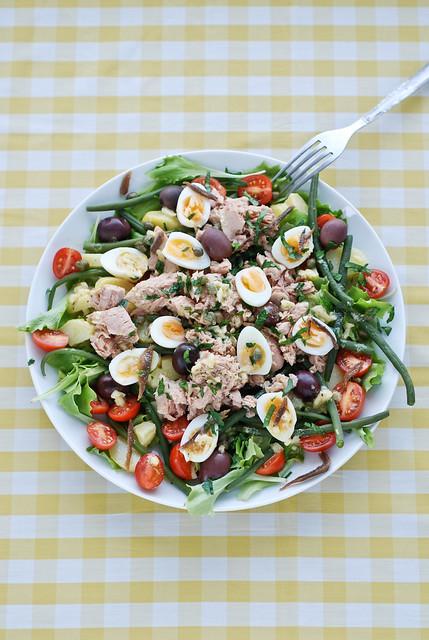 Nizza salat/salad Niçoise