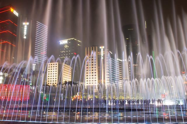 花城广场音乐喷泉4