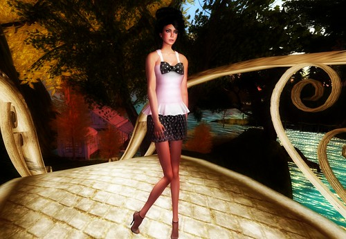 Alchemy Raquel Mesh Dress by Cherokeeh Asteria