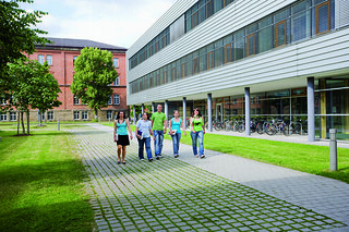 Students at  Ansbach University of Applied Sciences