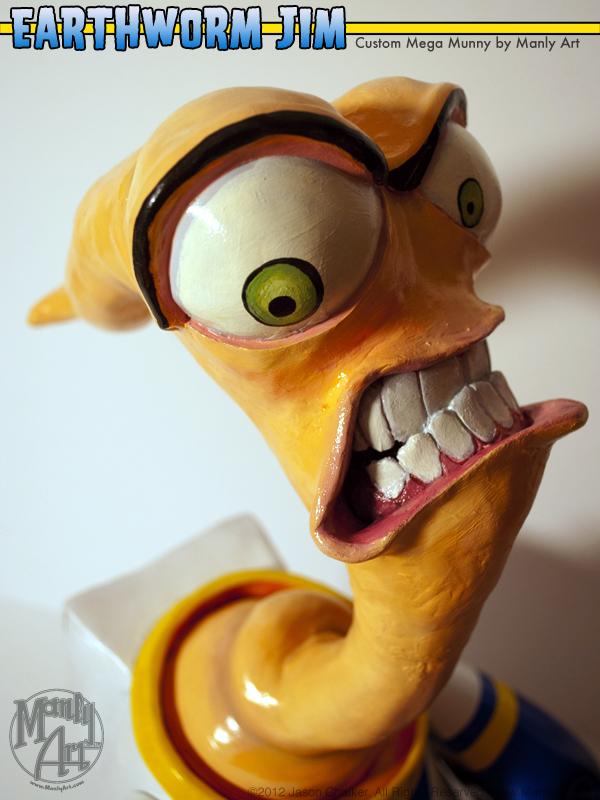 Earthworm Jim Mega Munny