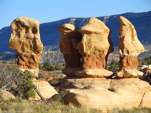 Formations in Devil's Garden, Grand Staircase-Escalante National Monument, Utah