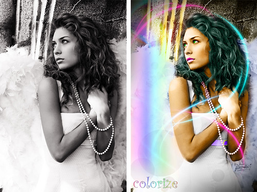 Colorize Angel by Giuseppe Lombardi