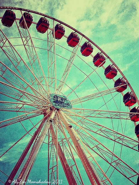 Vintage Ferris Wheel | A vintage take, with that ...