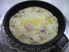 huevos al plato con crema Lorena 524