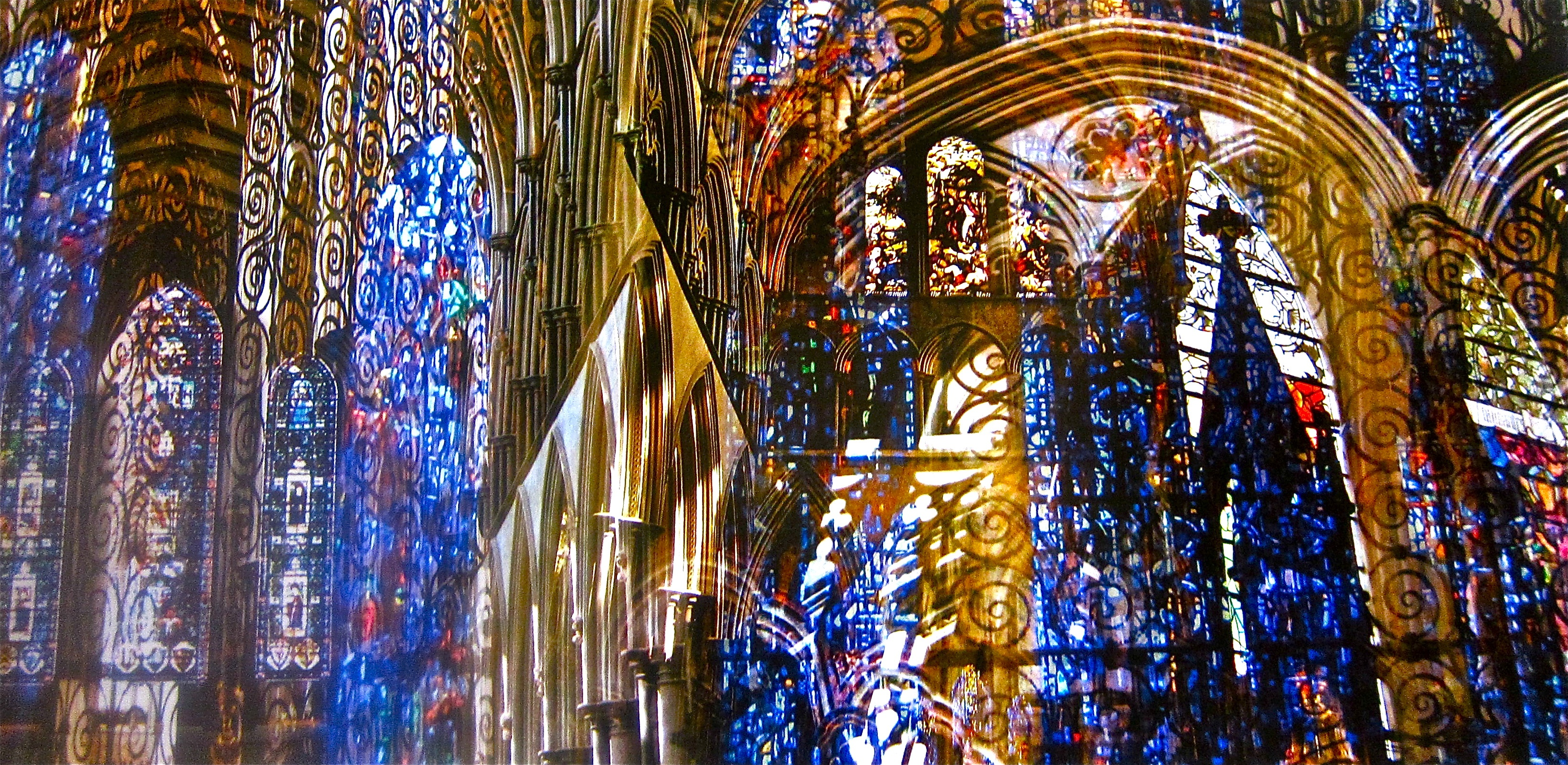 Salisbury Cathedral Stained Glass England