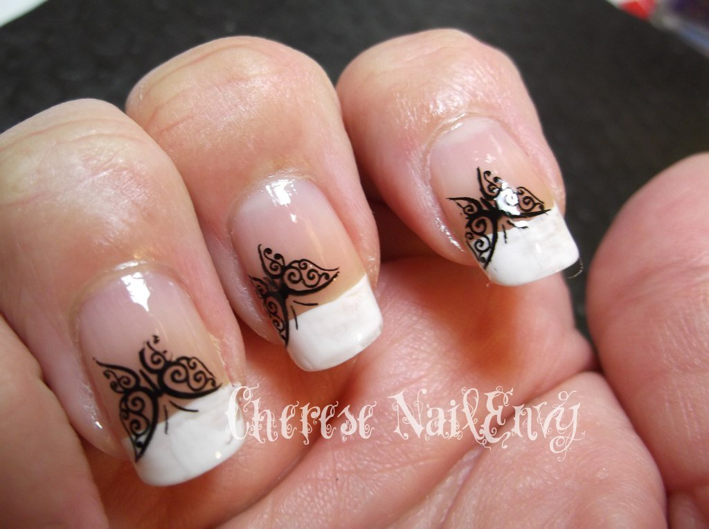 30 beautiful cute nail designs french tip ledufa stunning cute nail designs french tip 22 follows inspiration article prinsesfo Image collections
