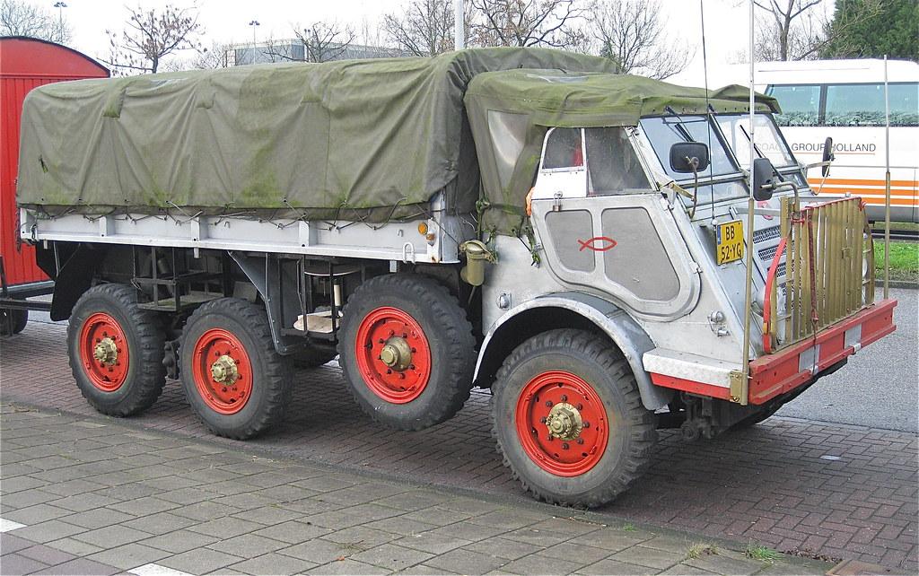 DAF YA 318, ex-army truck, 30-6-1955