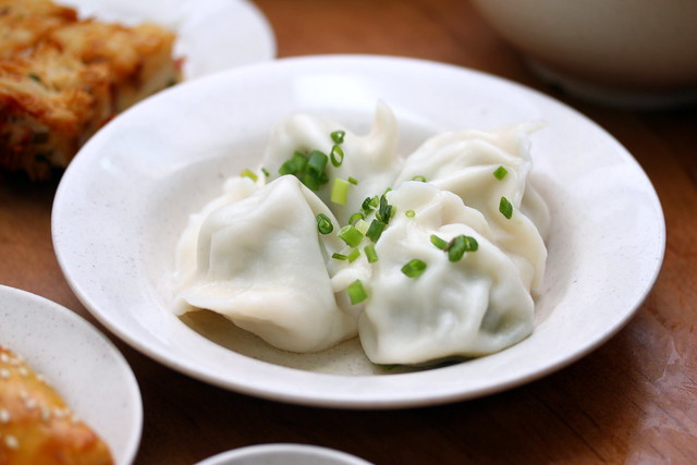 Swee Choon Tim Sum Restaurant's Chive Pork Dumpling (韭菜饺子)