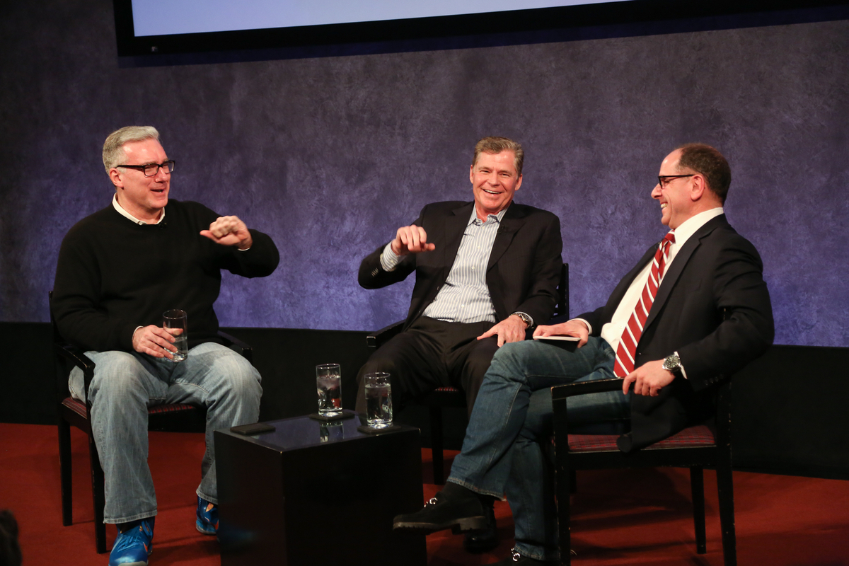 Keith and Dan with Jim Miller at the Paley Center 2