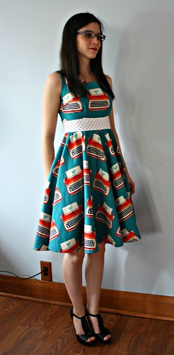 Typewriters Dress
