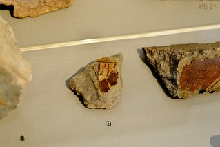 Terracotta fragments from a well at Isthmia, July 2011