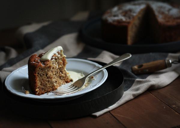 lactose free banana cake
