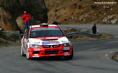"III RallySprint ""San Segundo"" 2012 - Alberto San Segundo Melero/Eva Navas Rodríguez - Mitsubishi Lancer Evo IX"