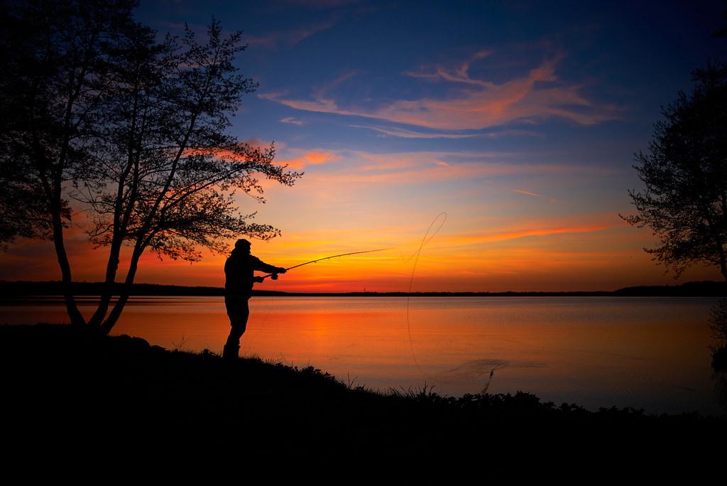 Furesø fisherman