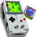 Game Boy & Tetris Cartridge (transformed) by Baron Julius von Brunk