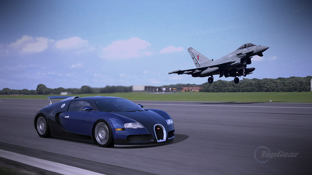 bugatti veyron 16 4 09 the top gear test track flickr photo sharing. Black Bedroom Furniture Sets. Home Design Ideas