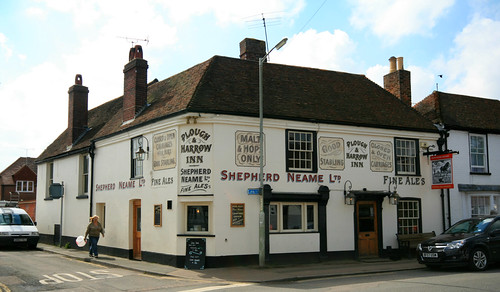 The Plough and Harrow, bridge, Kent