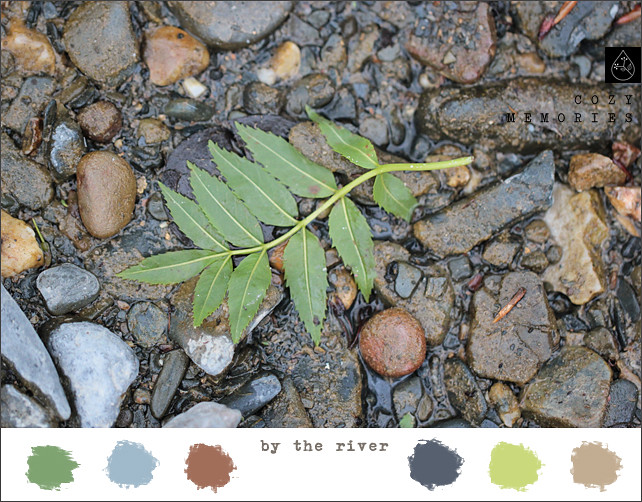 by the river Color Inspiration