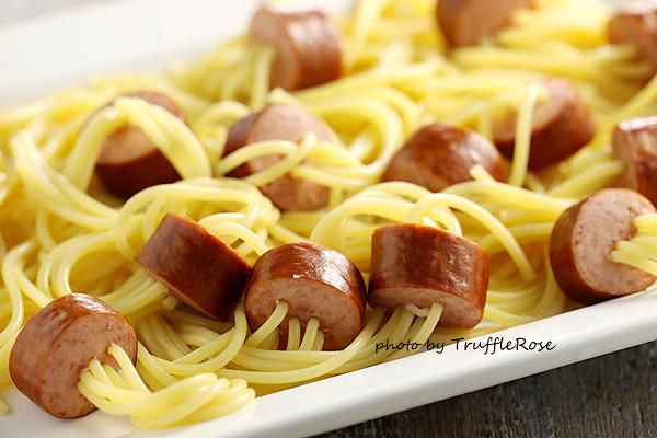 沒有章魚的章魚麵 Spaghetti octopus-20130429