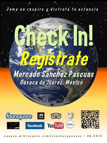 Mercado Sanchez Pascuas Check In! Regístrate Oaxaca 06.2013