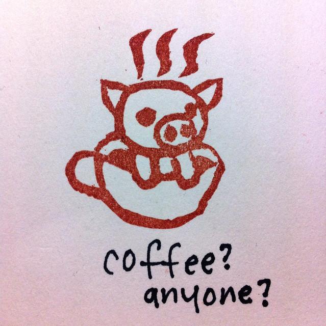 コーヒーぶたちゃん