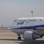 B777-300 機内から B747-400D
