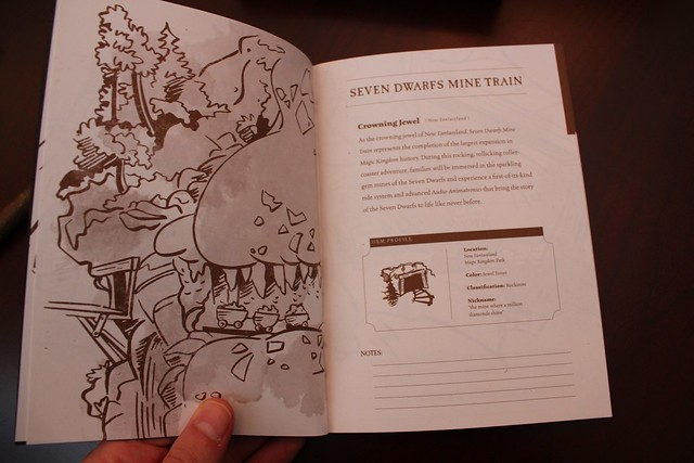 Seven Dwarfs Mine Train dedication invitation from Walt Disney World