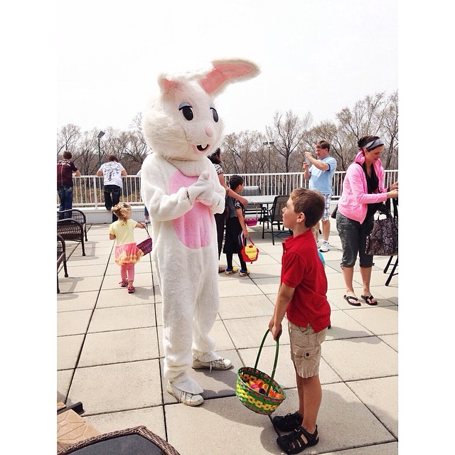 I can only imagine what he is saying to the Bunny #owenchristopher