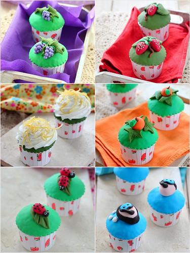 Cupcake Collage 2