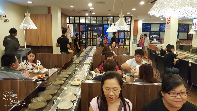shasa shabu steamboat buffet pandah indah interior