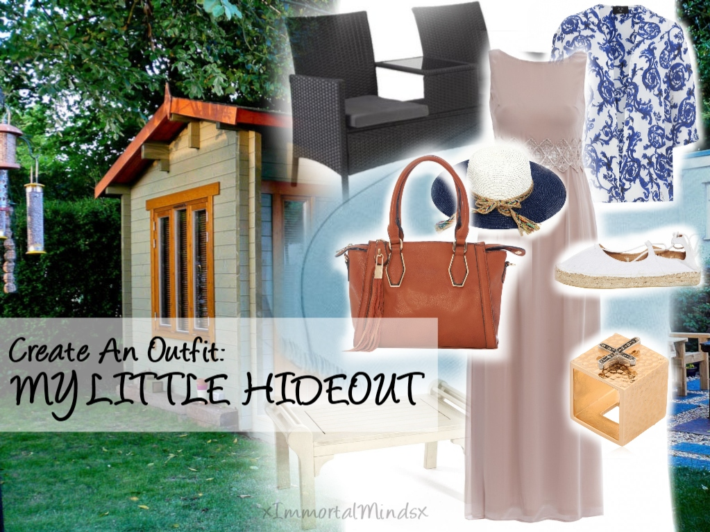 CREATE AN OUTFIT: MY LITTLE HIDEOUT