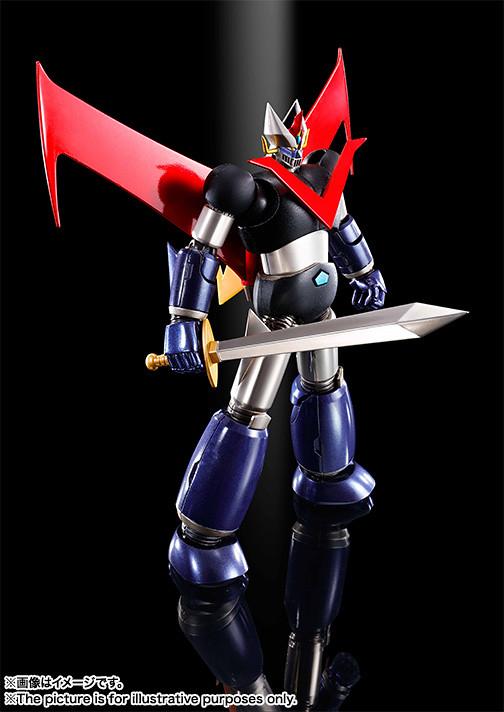 【官圖&販售資訊公開】《超級機器人超合金》金剛大魔神 ~鋼鐵塗裝版~ グレートマジンガー ~鉄(くろがね)仕上げ~