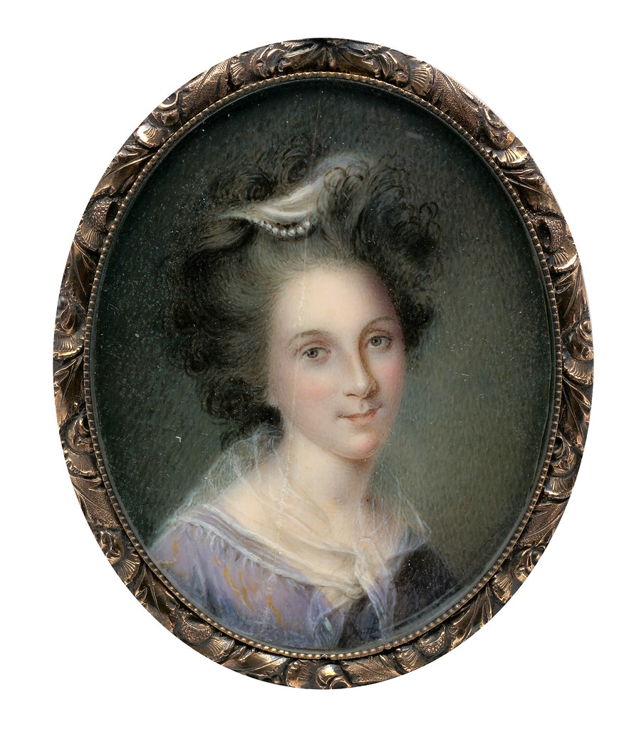 Rachel Brewer by Charles Willson Peale, 1790