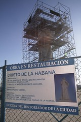 Cristo is under construction