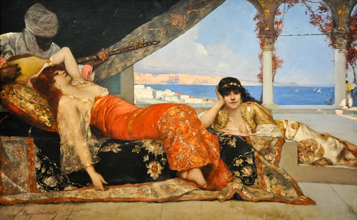 Jean Joseph Benjamin Constant - The Favorite of the Emir, 1879 at National Art Gallery Washington DC