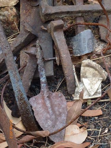 Relics of a bush camp