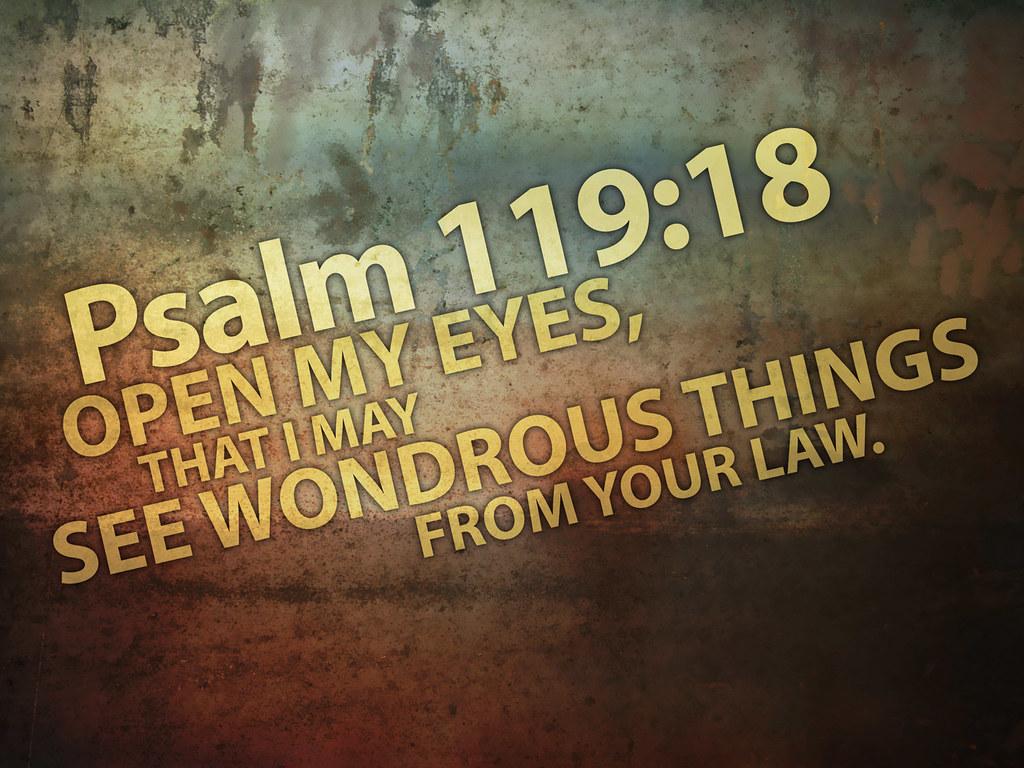 Home Decor Posters Scripture Psalm 119 18 God S Laser Bullseye Pinterest