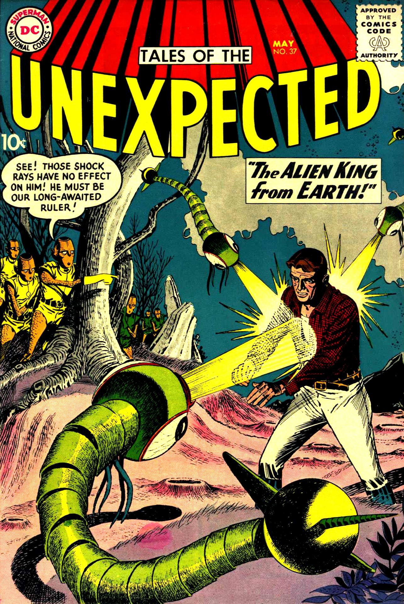 Tales of the Unexpected #37 (DC, 1959) Bernard Baily cover